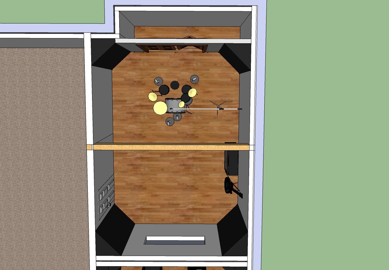 Innerflame studios recording studio in sandpoint idaho for Recording studio live room design